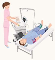 動脈硬化検査 (足の痛みやしびれの検査)